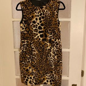 Nanette Lepore leopard mini dress